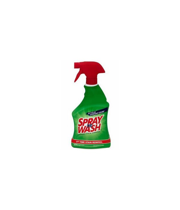 SPRAY N WASH® LAUNDRY STAIN REMOVER 22oz - 12/CS