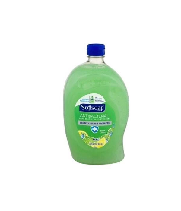 SOFT SOAP® 56 OZ - REFILL - FRESH CITRUS 6/CS