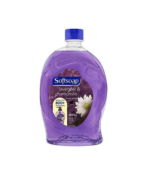 SOFT SOAP® 56 OZ - REFILL - LAVENDER & CHAMOMILE 6/CS