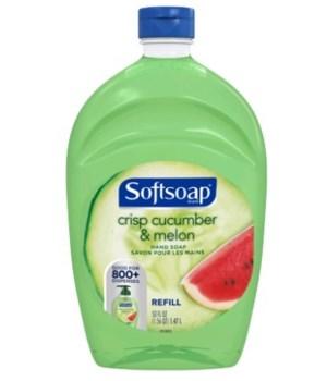 SOFT SOAP® 56 OZ - REFILL - CUCUMBER MELON 6/CS