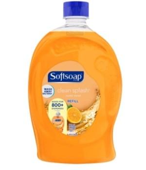 SOFT SOAP® 56 OZ - REFILL - CLEAN SPLASH 6/CS