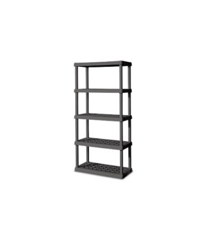 5 SHELF UNIT LT PLATINUM