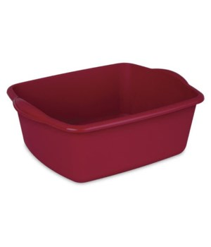DISH TUB 12 QT RED 12 PK