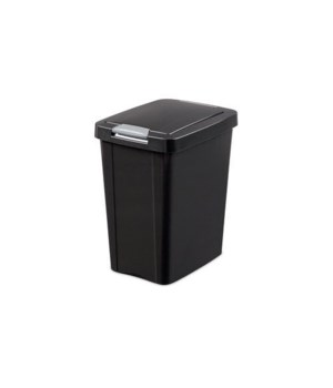 7.5 GAL TOUCHTOP BASKET BLACK 4 PK
