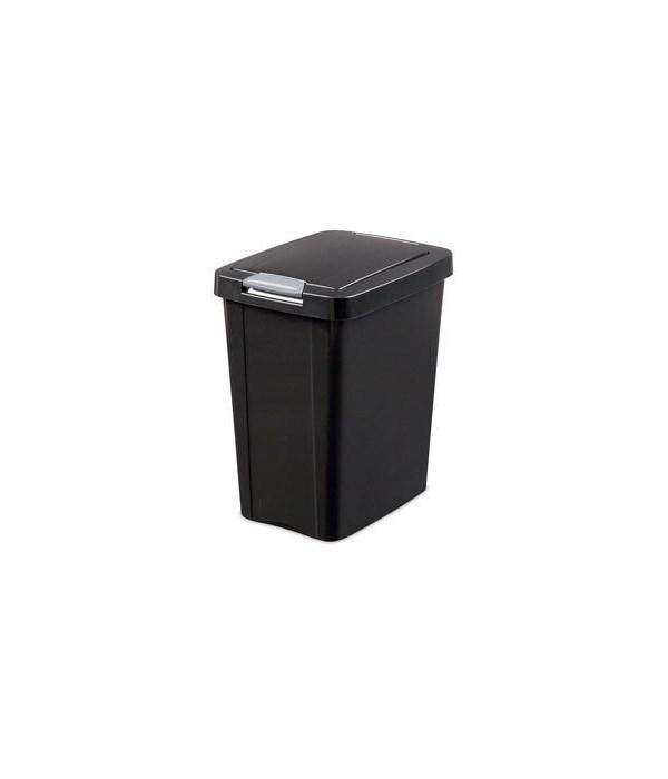 7.5 GAL TOUCHTOP BASKET BLACK 4 PK