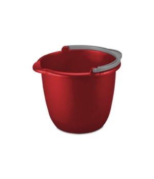 BUCKET SPOUT 10 QT RED12 PK
