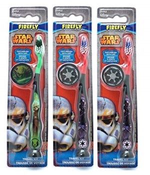 STAR WARS TRAVEL KIT WITH BRUSH  AND CAP- 48/CS