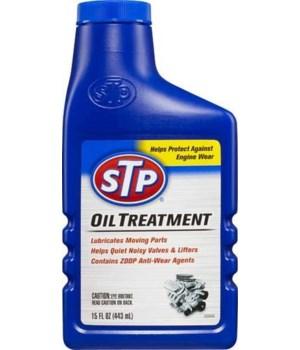 STP® OIL TREATMENT 15oz- 12/CS