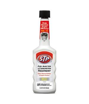 STP® FUEL INJECTOR/CARBURETER CLEANER 5.25OZ- 12/CS