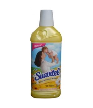 SUAVITEL® FABRIC SOFTENER 450 ML - AROMA (YELLOW) - 12/CS