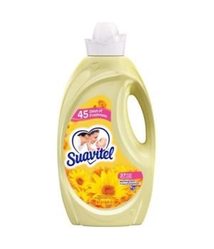 SUAVITEL® FABRIC SOFTENER 50 OZ - MORNING SUN - 6/CS