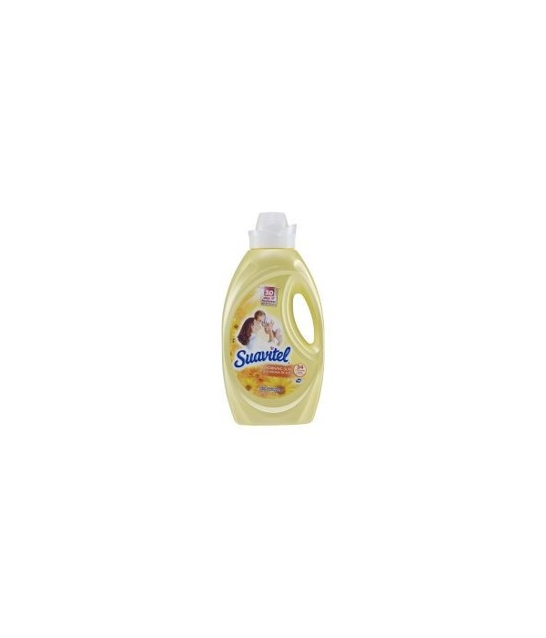 SUAVITEL® FABRIC SOFTENER 50 OZ - VANILLA - 6/CS (4871A)