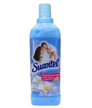 SUAVITEL® FABRIC SOFTENER 850 ML - BLUE PRIMAVERA -12/CS