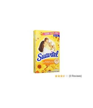 SUAVITEL® DRYER SHEET - SP MORNING SUN 20CT - 15/CS (3550A)