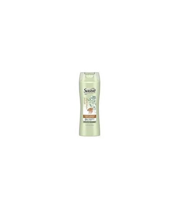 SUAVE® SHAMPOO 12.6oz- ALMOND & SHEA BUTTER - 6/CS