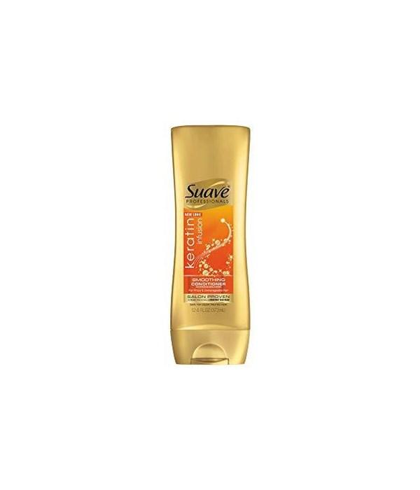 SUAVE® SHAMPOO 12.6oz- KERATIN  CARE  - 6/CS