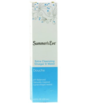 SUMMER EVE 4.5oz EXTRA CLEANSING (8727)