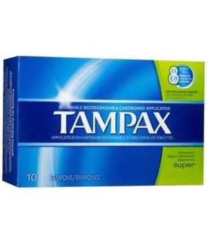 TAMPAX 12/10's SUPER  - ( 30833 )