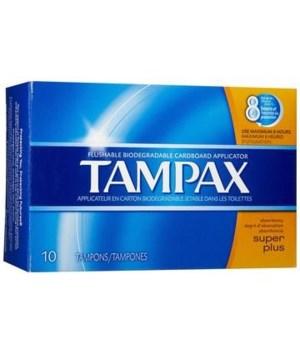TAMPAX 12/10's SUPER PLUS- ( 40836 )