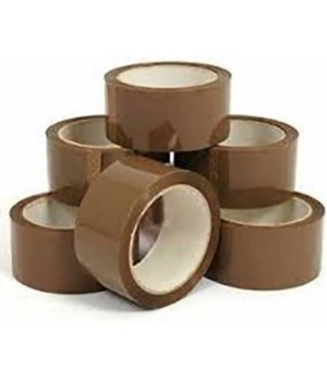 "ELEMENTS® BROWN PACKING TAPE 2""X50YARD 48/CS"