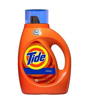 TIDE® DETERGENT LIQUID 50 OZ - ORIGINAL - 6/CS
