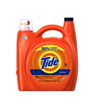 TIDE® DETERGENT LIQUID 150 OZ - ORIGINAL 96 LOAD - 4/CS