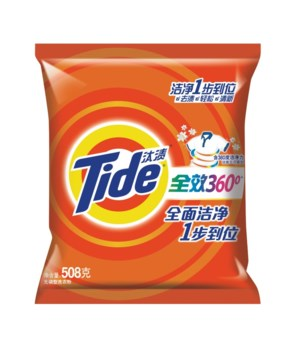 TIDE® DETERGENT POWDER 508 GRAMS- REGULAR - 12/CS