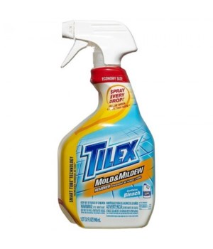 TILEX® SPRAY 32 OZ- MOLD & MILDEW REMOVER-  9/CS  (12438)