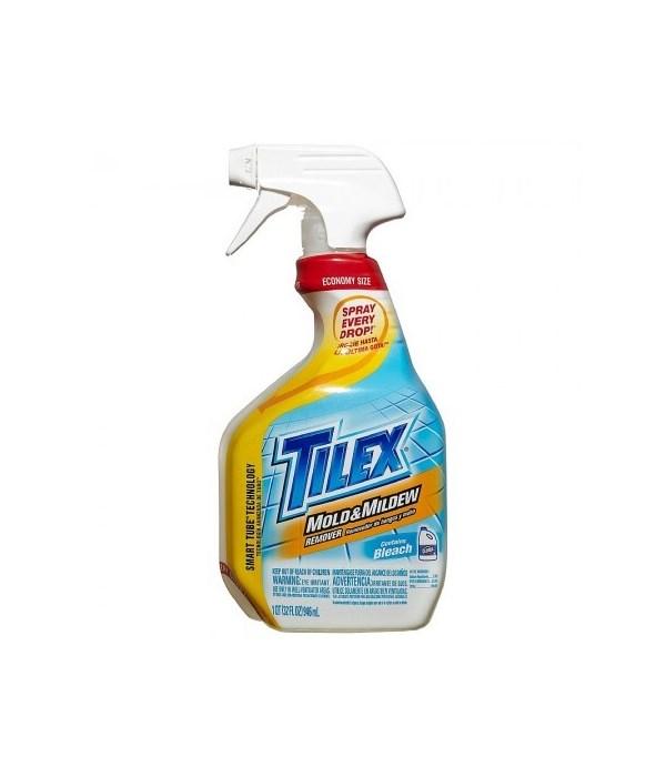 TILEX® SPRAY 32 OZ- MOLD & MILDEW REMOVER-  9/CS  (12438)
