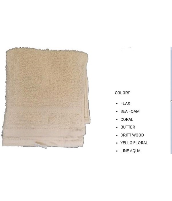 2PK CLEANING CLOTH- SIZE: 12'' X 12'' - 1 LINE- CORAL- 72 X 2PK/CS
