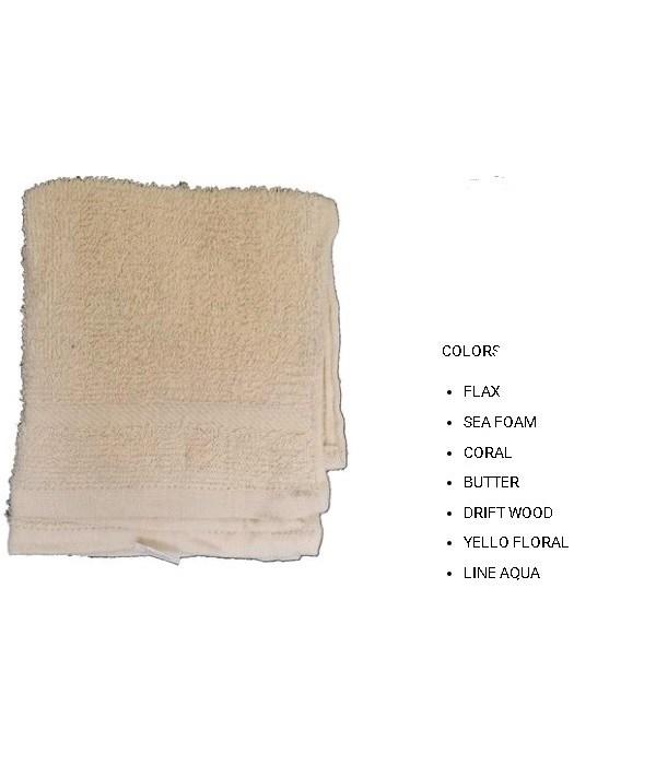 2PK CLEANING CLOTH- SIZE: 12'' X 12'' - 1 LINE- AQUA- 72 X 2PK/CS