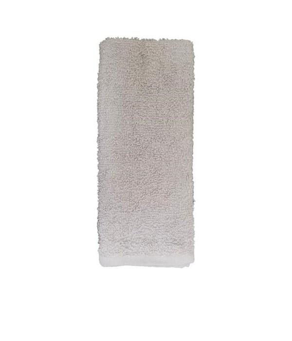 2PK DISH CLOTH- SIZE: 16'' X 26'' - 60gr/PC - GRAY- 2PK X 24 /CS