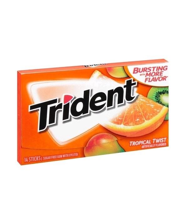 TRIDENT® SF 14CT - TROP TWIST- 144/CS
