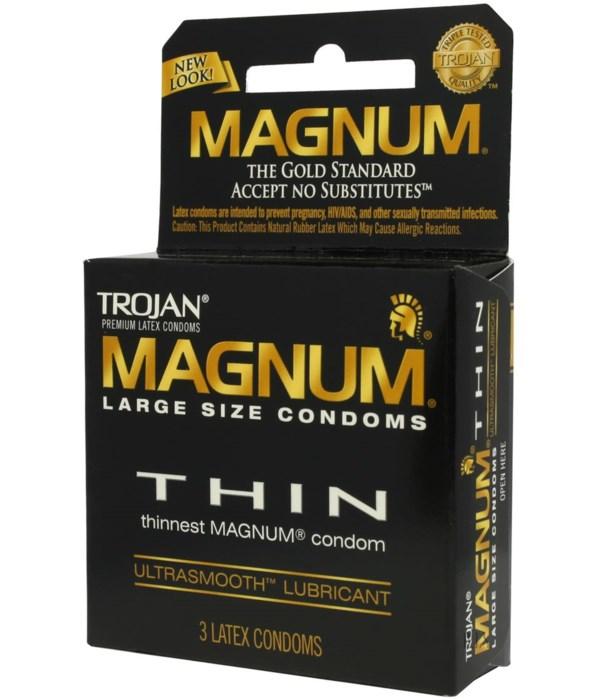 TROJAN® 12/3's MAGNUM THIN 64603 12/3'S