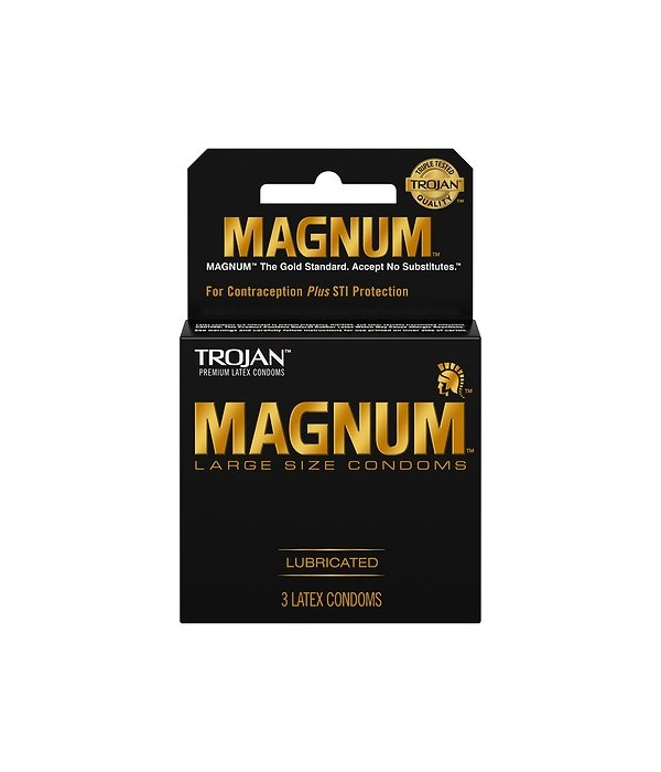 TROJAN® 12/3's MAGNUM BLACK 64203/20500210