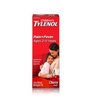 TYLENOL® CHILD SUSP 4oz CHRY - 12/UNIT