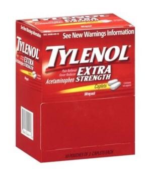TYLENOL® XS CAPS 50/2's BOX (US)