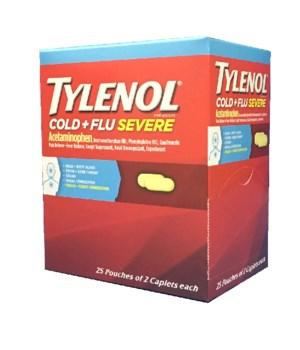 TYLENOL BOX - COLD 25/2PK