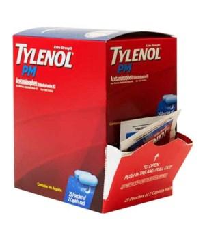 TYLENOL® PM BOX 25 X 2