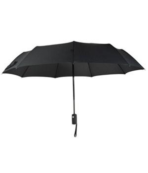 ELEMENTS® UMBRELLA 42'' ARC, MANUAL SUPER MINI BLACK- 12/UNIT