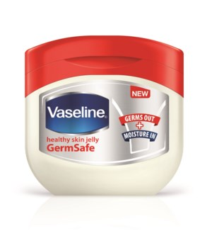VASELINE® PETROLEUM JELLY 100 ML - GERM FREE - 12/UNIT