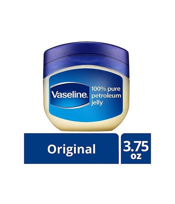VASELINE� PETROLEUM JELLY 3.75oz- ORIGINAL (USA) - 12/UNIT
