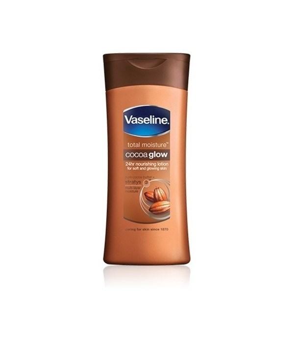 VASELINE® LOTION 200 ML COCOA RADIANT - 12/UNIT