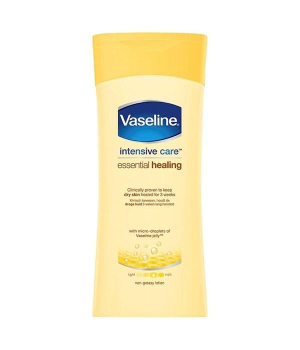 VASELINE® LOTION 200 ML ESSENTIAL HEALING- 12/UNIT