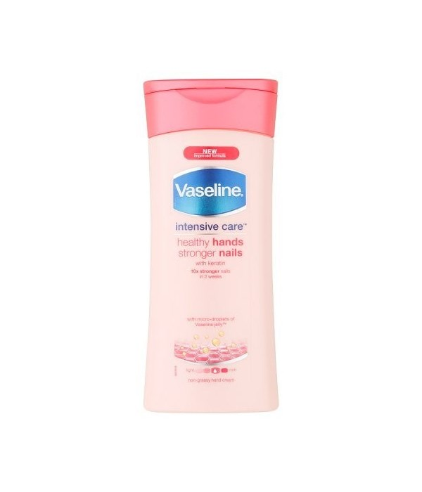 VASELINE® LOTION 200 ML HEALTHY HAND - STRONGER NAILS - 12/UNIT