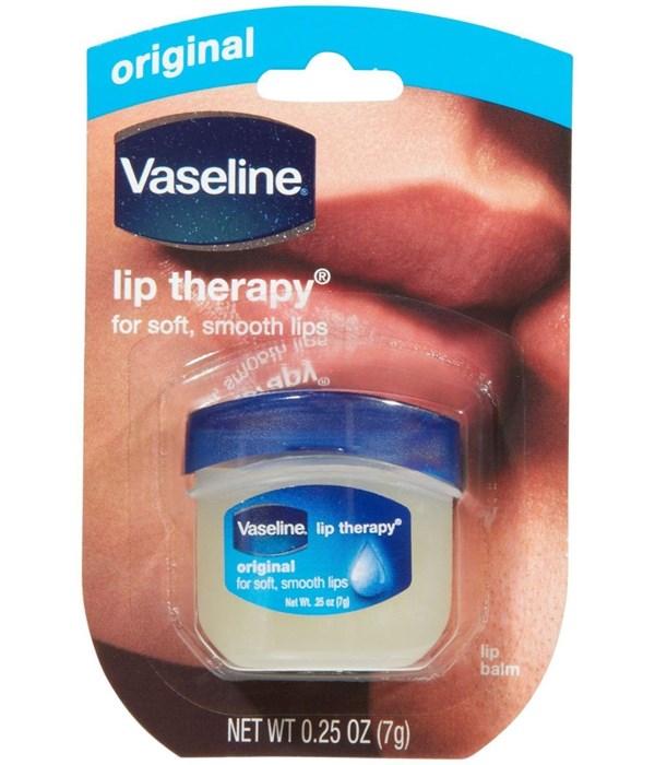 VASELINE® LIP THERAPY 0.25oz- ORIGINAL - 32/CS
