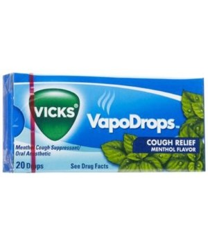 VICKS COUGH DROPS 20 PACKS OF 20 EACH-MENTHOL