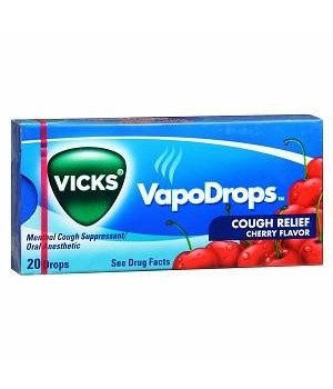 VICKS® COUGH DROPS 20 PACKS OF 20 EACH - CHERRY