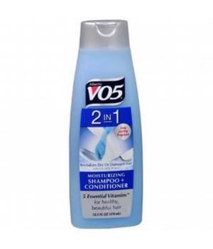 VO5® SHAMPOO/CONDITIONER 12.5oz - 2-IN-1 MOISTURIZING - 12/UNIT