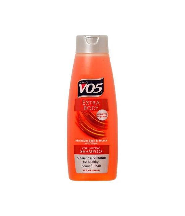 VO5® SHAMPOO 12.5oz - EXTRA BODY - 12/UNIT